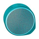 LOGITECH Mobile Wireless Speaker X100 [984-000376] - Cyan/Green Grill - Speaker Bluetooth & Wireless